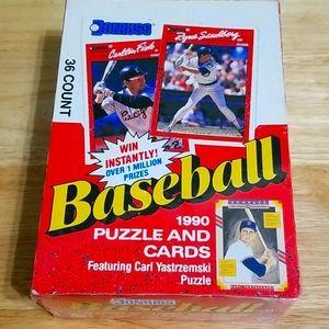 1990 Donruss baseball SEALED box of 36 packs